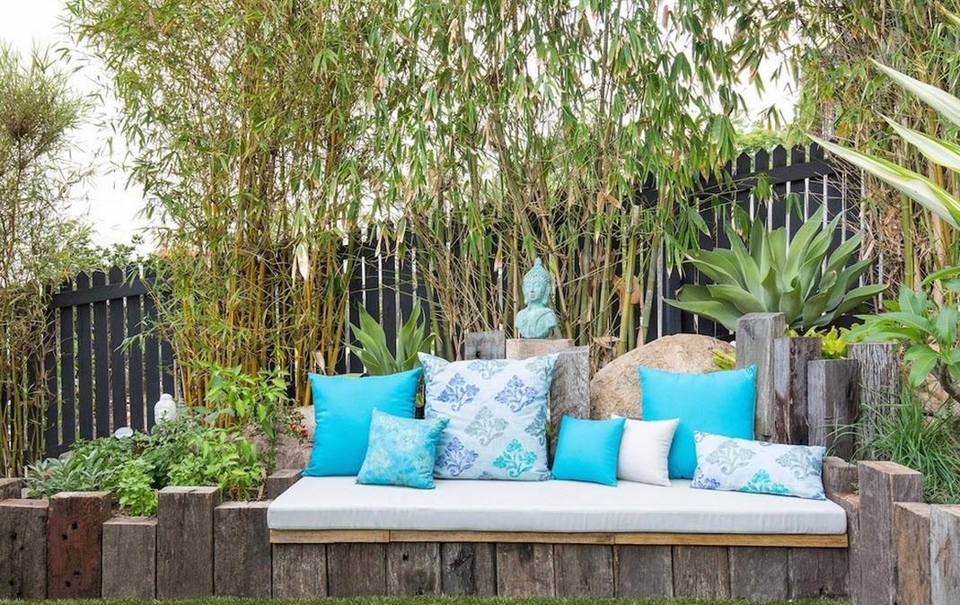 Идеи для дизайна двора в частном доме своими руками 44