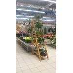 Декоративная лестница-стеллаж