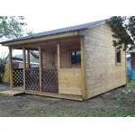 Летний домик с террасой