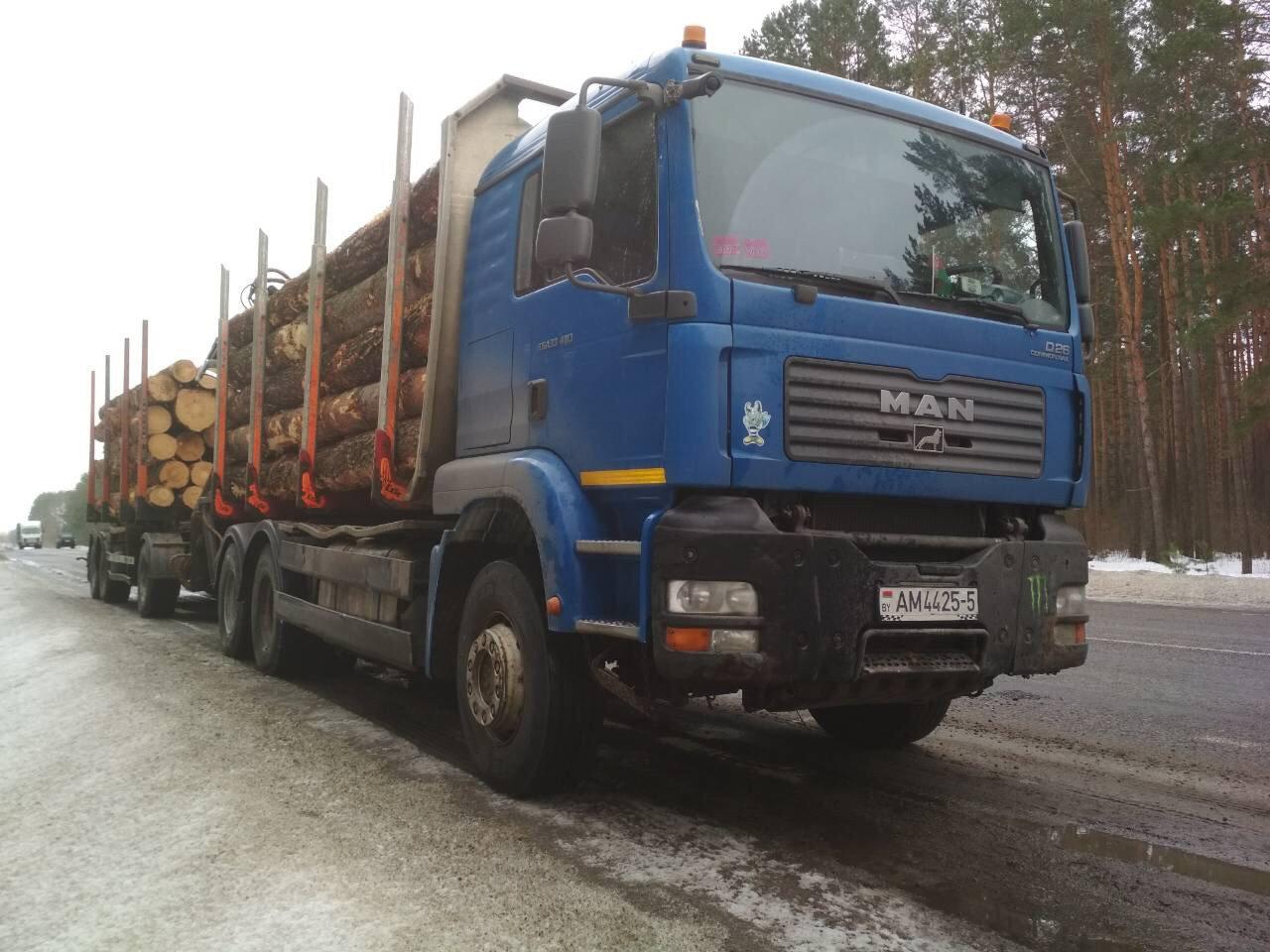 Аренда лесовоза Минск